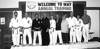 Instructors at1997 IKKF Annual Training